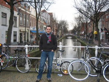 Me at Delft, The Netherlands